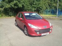 Red Peugeot 307 for Quick Sale