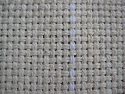 """COTTON MONKS CLOTH 2 X 2  for Punch Needle and Primitive Rug Hooking (36""""x 60"""")"""
