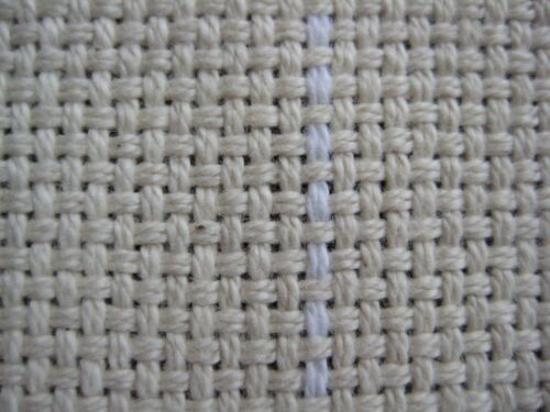 """Monks Cloth 2"""" x 2"""" for Punch Needle and Primitive Rug Hooking (36""""x 60"""") 1 yard"""