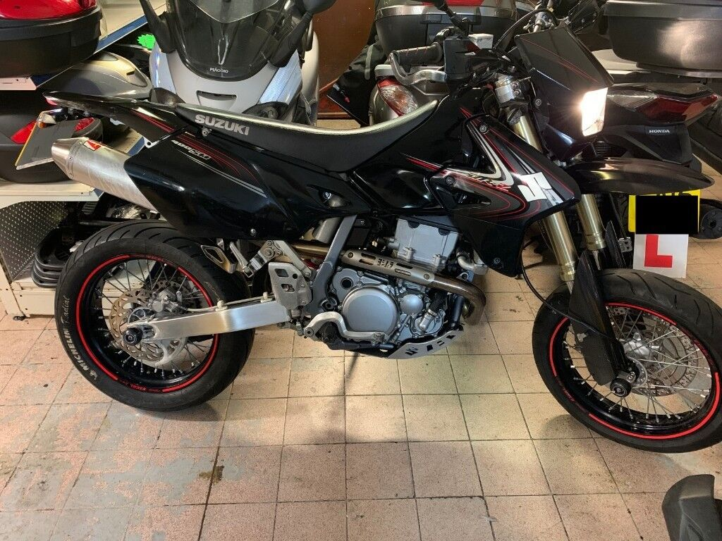 Astonishing Suzuki Drz 400 Sm Custom Exhaust In Hammersmith London Gumtree Pabps2019 Chair Design Images Pabps2019Com