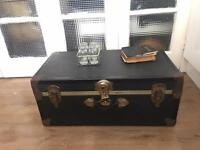 GENUINE VINTAGE TRUNK CHEST FREE DELIVERY LDN🇬🇧STORAGE/ COFFEE TABLE