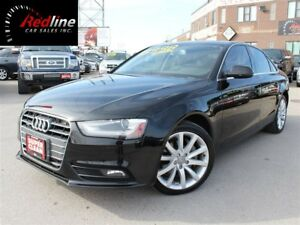 2014 Audi A4 2.0T Quattro Komfort Bluetooth-Leather-Sunroof