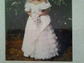 Spanish style wedding dress size 12 to 14