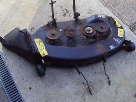 """John Deere 38"""" ride on mower cutting deck - mulcher compatible"""