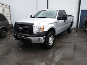 2013 Ford F-150 XL 4x4 SuperCab 6.5 ft. box 145 in. WB