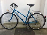 VINTAGE PEUGEOT ROAD BIKE - LADIES/GENTS COMMUTER/ROAD/ EVERYDAY BICYCLE - LATE 1970s EARLY 1980s