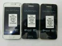 Unlocked Samsung Galaxy S5 Mini 16gb Open To All Networks All Colours Available Fully Boxed Up