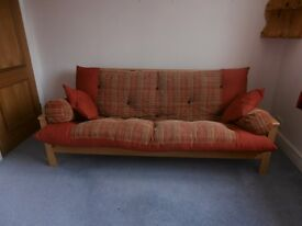 Futon Style Sofa Bed - Reduced price!