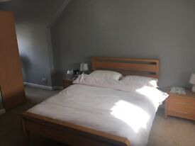 Large en-suite double room to let – 5 mins from Tooting Broadway