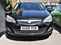 2010 Vauxhall Astra 1.6 i VVT Exclusiv -- CHEAP on Fuel -- Part Exchange OK -alternative4 ford focus
