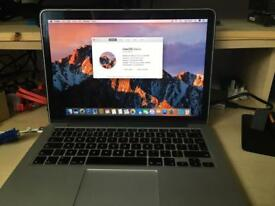"Late 2012 13"" Macbook Pro Retina 500GB SSD 8GB RAM"