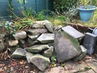 Natural Stone Pile - various sizes and shapes