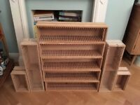 Ikea Boalt wooden CD tower rack, job lot, rare, discontinued