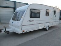 BAILEY PAGEANT MOSELLE FOUR BERTH TOURING CARAVAN YEAR 2000 LUXURIOUSLY EQUIPPED MODERN AND LIGHT !!