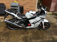 Daelim VJF 125cc Roadsport/ Roadwin R 2015 bike 64 plate. Just under 15bhp 145kg dry