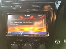 Car stereo kenwood