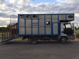 Horse lorry 7.5t