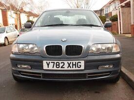 BMW 330i SE 2001 2 OWNERS FULL SERVICE HISTORY DECEMBER MOT NO ADVISORIES