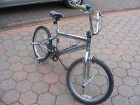 Chrome Stunt Bike