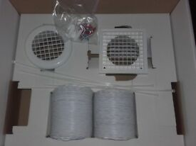 Duct Kit for 4inch inline or ceiling fan