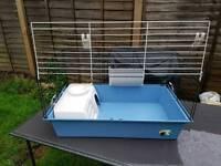 Indoor rabbit guinea pig hutch
