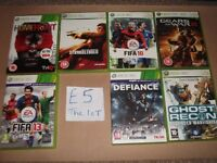 XBOX 360 GAMES £5 THE LOT PLAYSTATION 3 GAMES £5 THE LOT