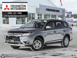 2016 Mitsubishi Outlander ES! AWD! HEATED SEATS! WARRANTY TO 202