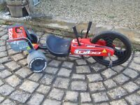 Turbo Twist 360 Go Kart suit ages 7 + good condition