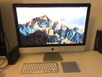 "27"" Apple iMac - 3.4GHz i7, 1Tb Fusion Drive, 8Gb Ram"