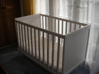 Wooden Baby Cot in very good condition