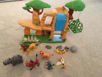 Lion guard set with characters