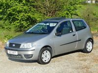 Fiat Punto,SUNROOF SPECIAL,Electric, Glass /Tilt /Slide. In Excellent Condition.