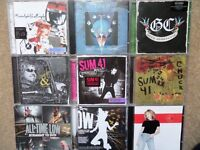 Rock / Metal CDs - Albums and singles (40 in total) - Sum 41/Marillion/Gary Moore/Heart - 50p-£16