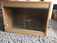 2ft vivarium in beech for sale