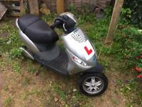 Piaggio Zip 125cc stolen/recovered but running
