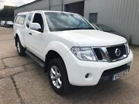 "Nissan Navara Acenta King cab, 2.5 dci ""White edition"" 188ps, Only 1 former keeper, Stunning truck!"