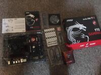 MSI gaming 970 motherboard whis AMD 4300 cpu