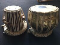 Excellent Indian Drum (Tabla) with Carrying Case