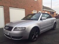 2004 04 Audi A4 Cabriolet 1.8 Turbo Petrol *Manual*FSH Full Leather Top Of Range not clk convertible