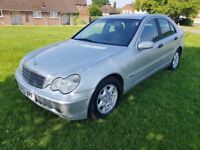 2003 Mercedes-Benz C Class 2.1 C220 CDI Classic SE with full service history