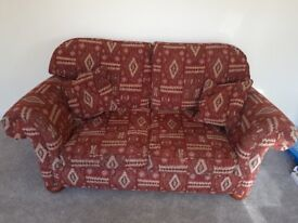 Large 2-Seater and matching 2 Seater Sofa - Very goog condition
