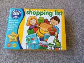 Orchard Toys Shopping List game complete