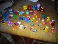 Peppa Pepa Pepper Pig bundle job lot of over 40 items figures dolls house furniture train