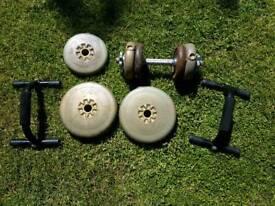 Weights and Press Up Bars