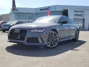 2017 Audi RS 7 4.0T Performance | WINTER WHEELS | EXHAUST