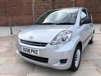 2008 08 DAIHATSU SIRION S 1.0 / FULL YEARS MOT / £30 ROAD TAX