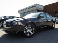 2014 Dodge Charger SXT Plus, Leather, Sunroof,Rear Spoiler,8.4 I