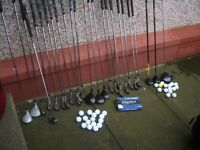 Golf Introduction Starter Set Bundle, 26 Beginner Clubs, 2 Bags, a Trolley & Balls, Car Boot,?
