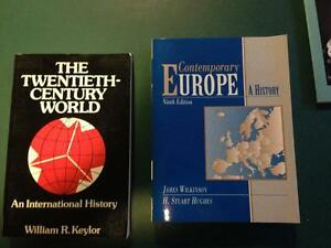 European History Collection (Downsizing..so no small numbers)