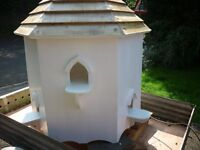DOVE COTE HEXAGONAL WOODEN HAND MADE LARGE 4ft X 3ft